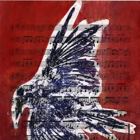 gyotaku song bird