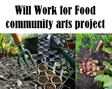 will work for food community garden